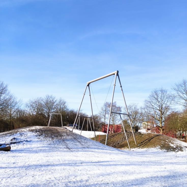 Bild 1: Affenschaukel Spielplatz