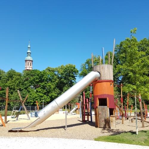 Bild 1: Spielplatz Alte Spinnerei