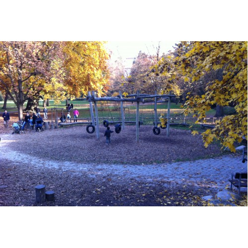 Spielplatz Am Alten Botanischen Garten In Tübingen