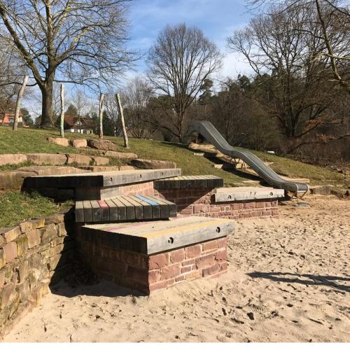 Bild 1: Am Kurpark Pavillon