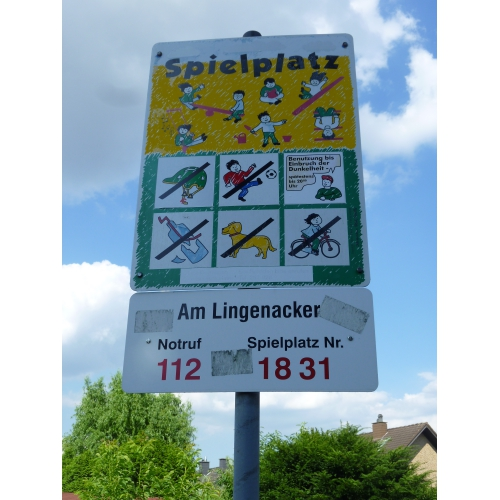 Bild 4: Am Lingenacker