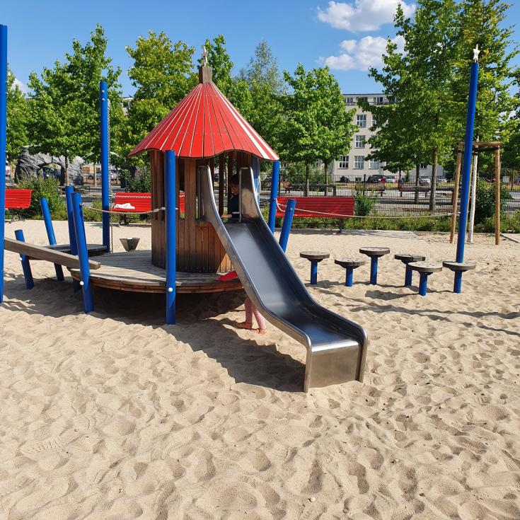 Bild 1: Amerika Spielplatz (Platz der US-Berlin-Brigade)
