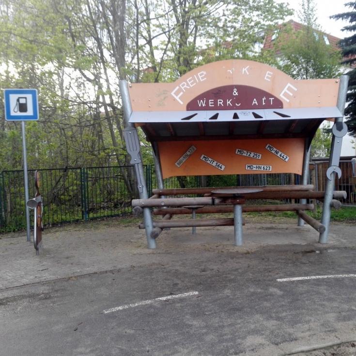 Bild 5: Autospielplatz