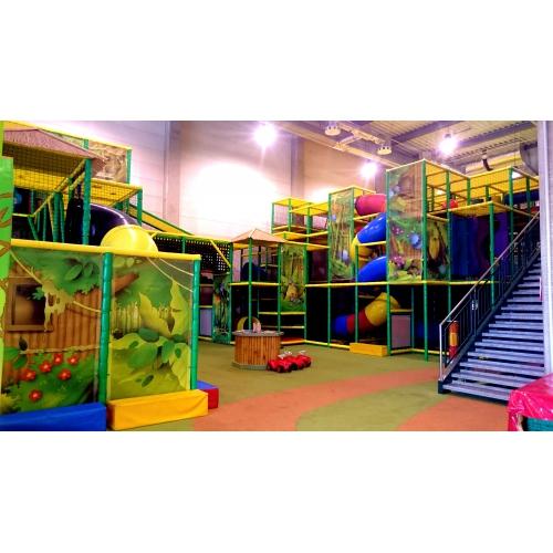 Bild 1: Bambooland Indoorspielplatz
