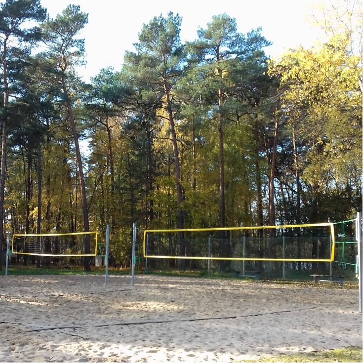 Bild 1: Beachvolleyball-Platz