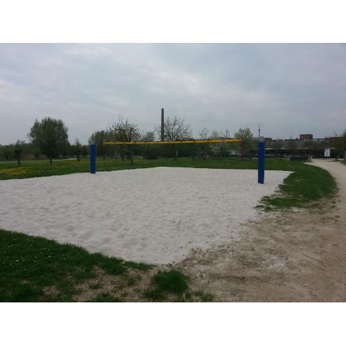 Bild 2: Beachvolleyballplatz am LGS Gelände