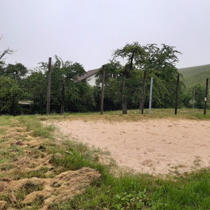 Bild 2: Beachvollyballanlage
