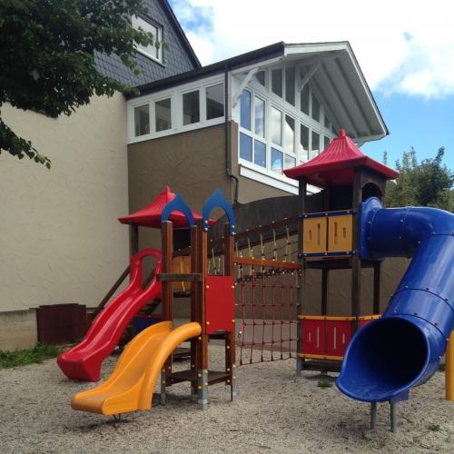 Bild 1: Bei der Grundschule St. Remigius