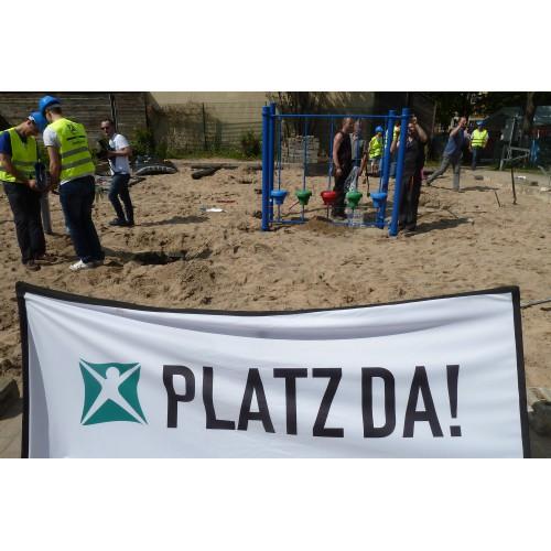 Bild 1: Spielplatz Beuthstraße