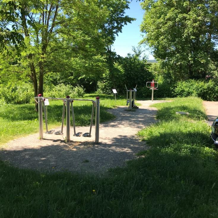 Bild 1: Bewegungsparcours Grüne Mitte