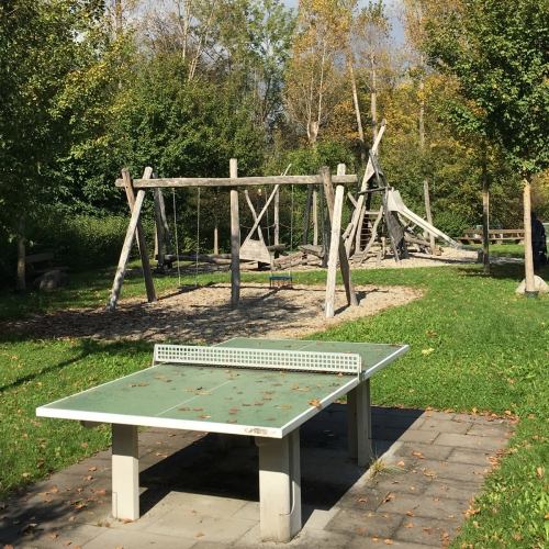 Bild 3: Biberspielplatz
