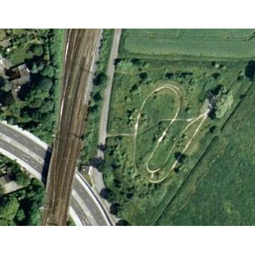 Bild 1: BMX-Bahn - stillgelegt