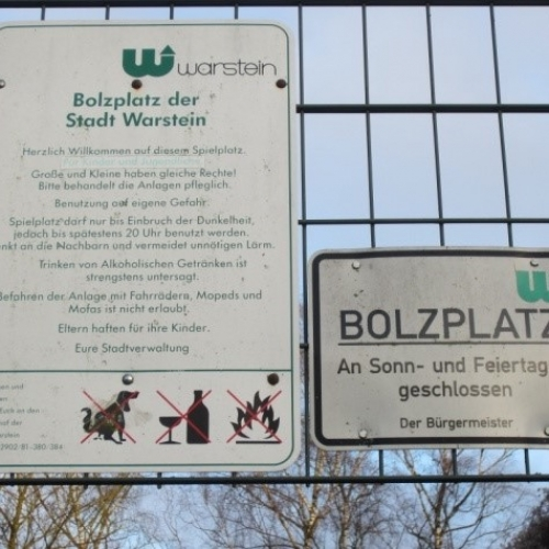 Bild 5: Bolzplatz Bocksnaken