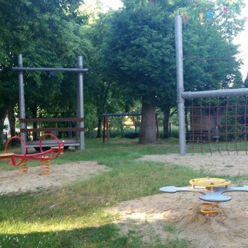 Bild 1: Boslar Spielplatz