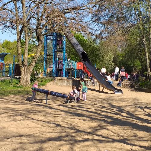 Bild 1: Bürgerpark Spielplatz