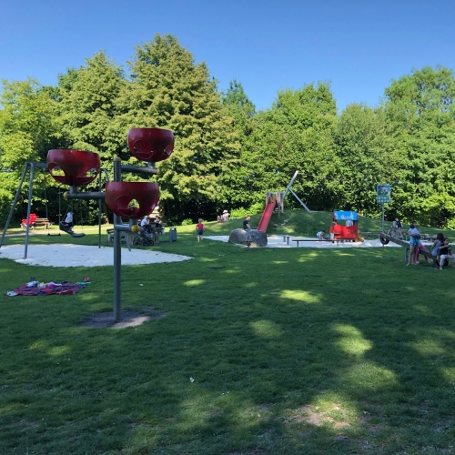Bild 1: Dorfpark - ein Park für Generationen