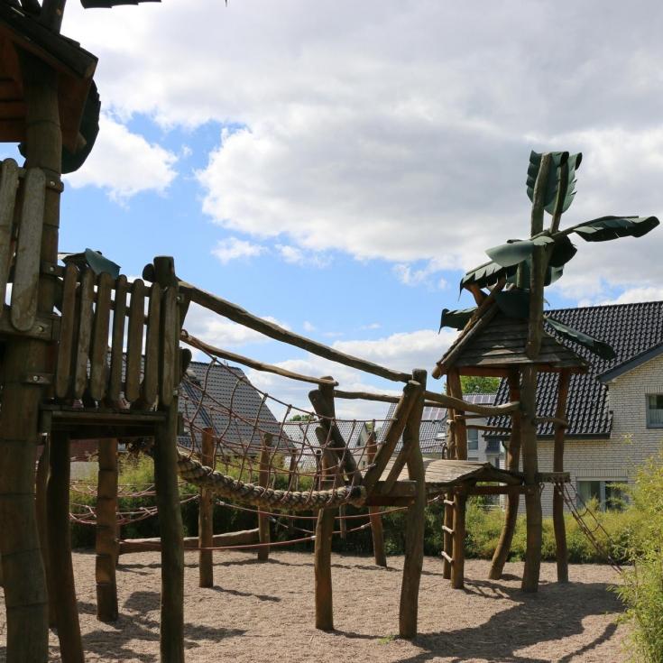 Bild 2: Dschungelspielplatz Kollwitzweg