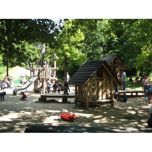 Bild 5: Elefantenspielplatz im Hirschgarten