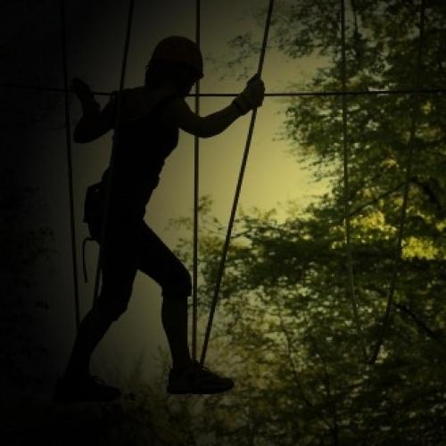 Bild 1: Erlebniskletterwald GbR