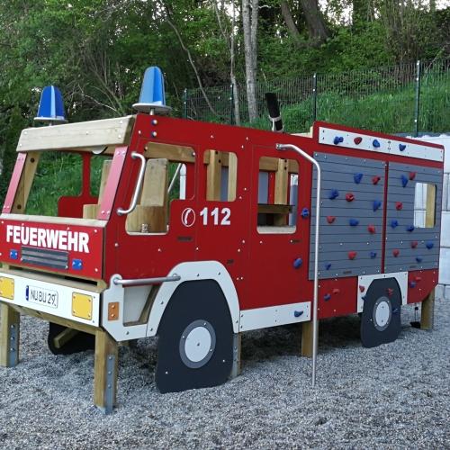 Bild 1: Feuerwehrspielplatz