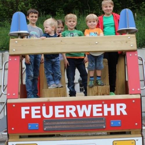 Bild 5: Feuerwehrspielplatz