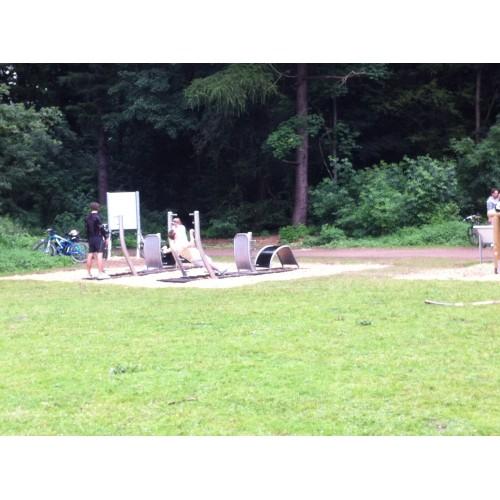 Bild 4: Fitnessparcours am Decksteiner Weiher