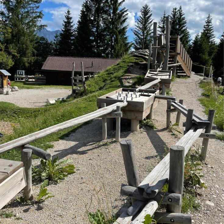 Bild 1: Flösserspielplatz