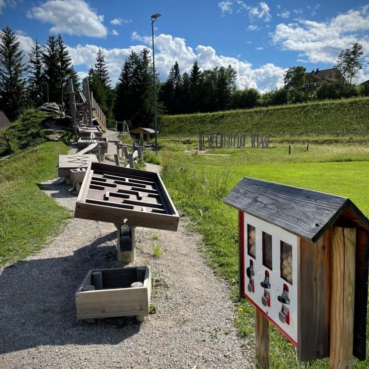 Bild 6: Flösserspielplatz