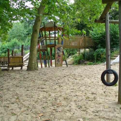 Bild 1: Friedensthalpark / Am Halensee