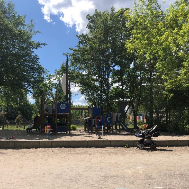 Bild 1: Gasometer-Spielplatz