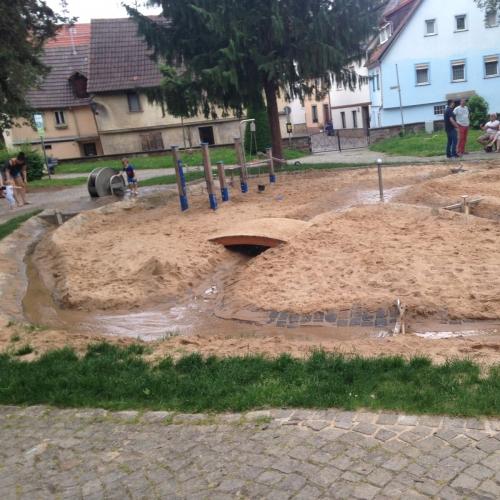 Bild 1: Grabenweg