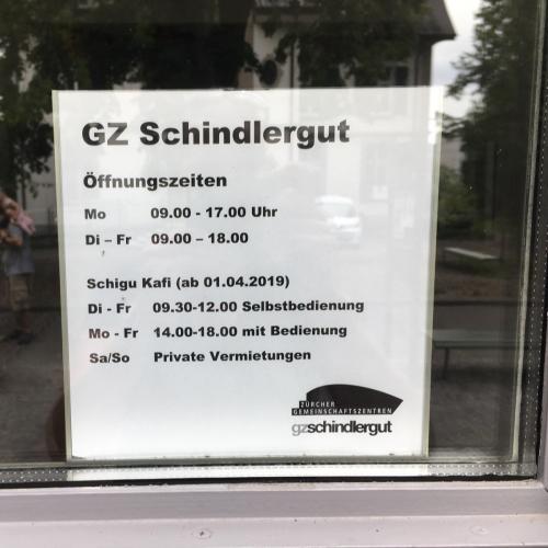 Bild 5: GZ Schindlergut