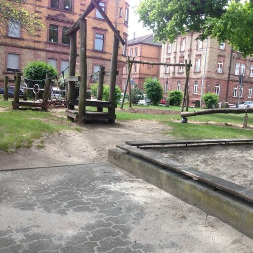 Bild 1: Heinlein-Spielplatz