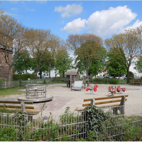 Bild 1: Hildapromenade - Kleinkindspielplatz