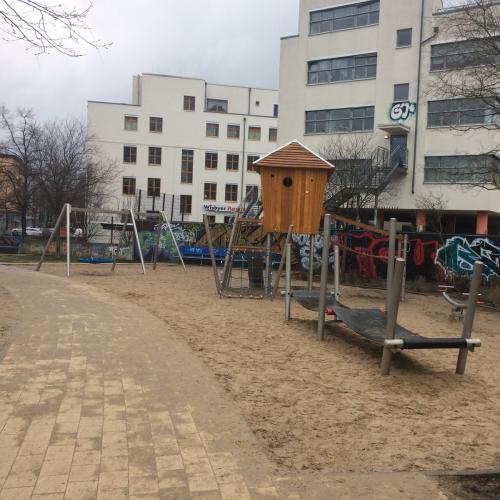 Bild 1: Scherenbergstraße / Hinterm Lidl