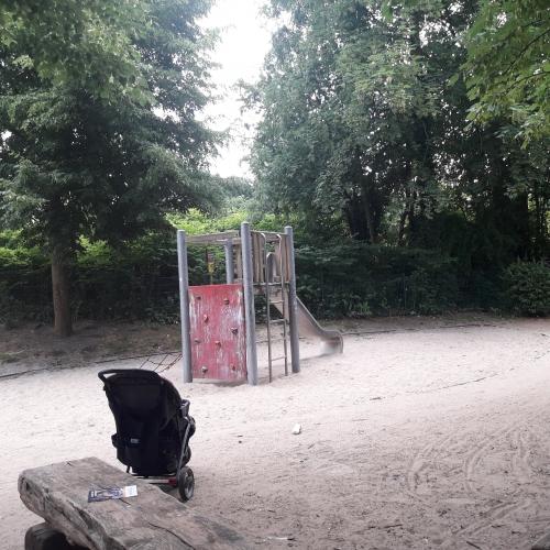 Bild 2: Im Gartenbruch