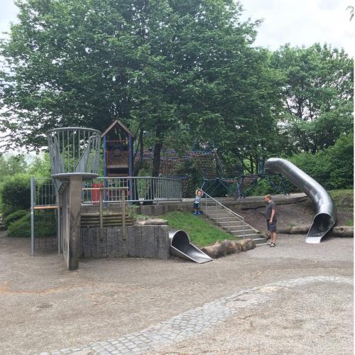 Bild 2: Im Kurpark