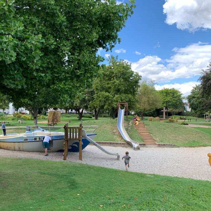 Bild 1: Im Stadtpark