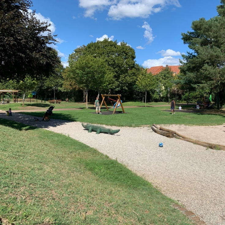 Bild 4: Im Stadtpark