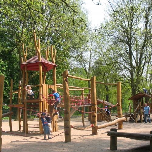 Bild 1: Im Südpark / Graetschelsteig