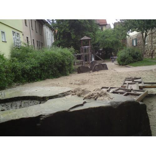 Bild 5: Im Zwinger