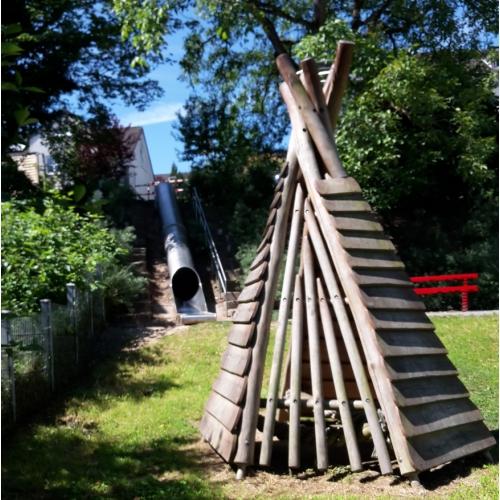 Bild 1: Indianerspielplatz Lannesdorf