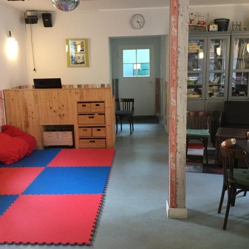 Bild 2: Kiezcafé im Mehrgenerationenhaus Campus Kiezspindel
