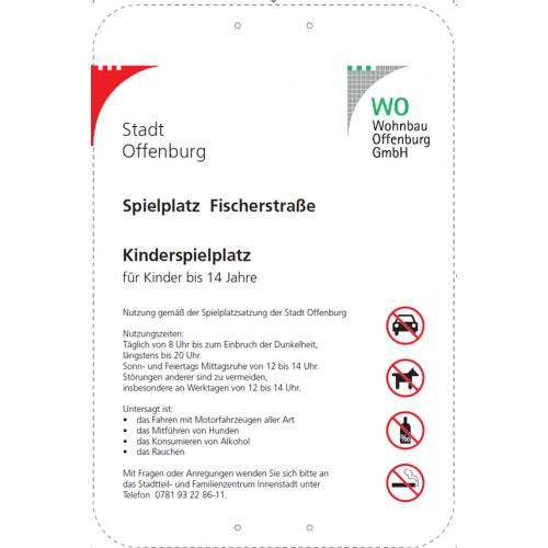 Bild 3: Kinderspielplatz Fischerstraße
