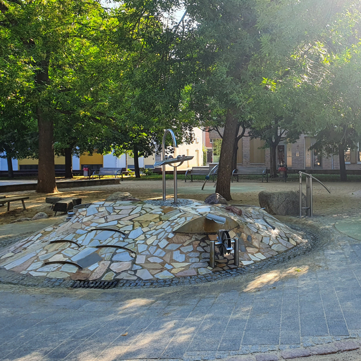 Bild 4: Krämerbrücken Spielplatz