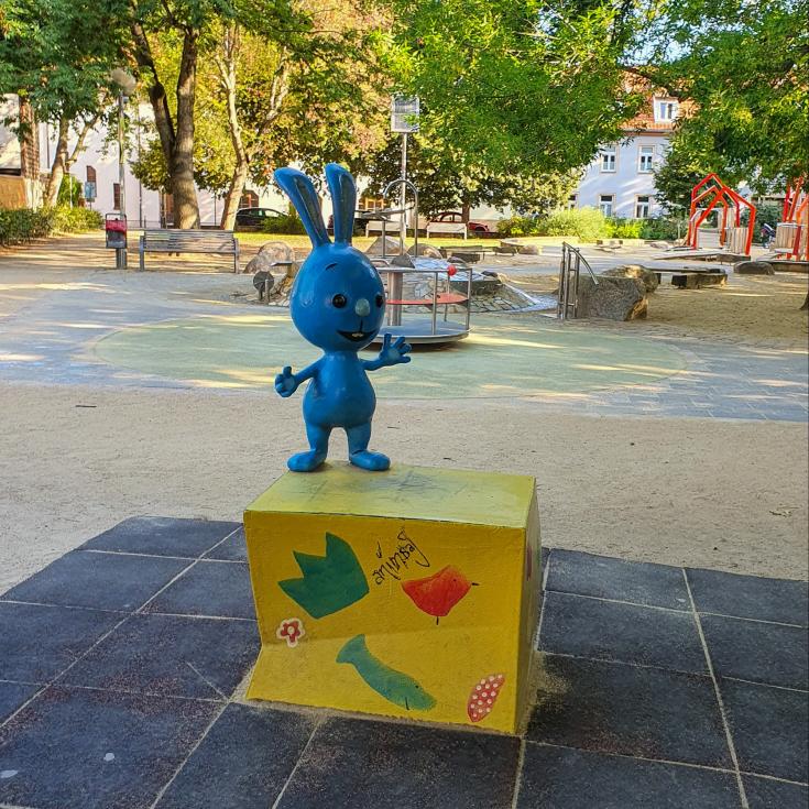 Bild 5: Krämerbrücken Spielplatz