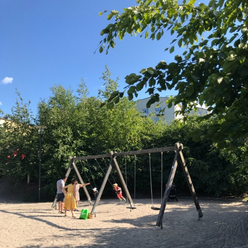Bild 4: Kristinebergs strandparks plaskdamm