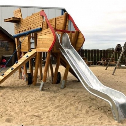 Bild 1: Loemühle Spielplatz