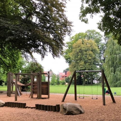 Bild 5: Wasserspielplatz im Luitpoldpark