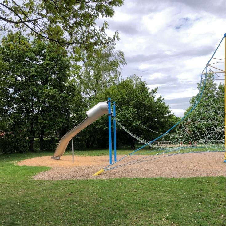 Bild 1: Messe-Spielplatz